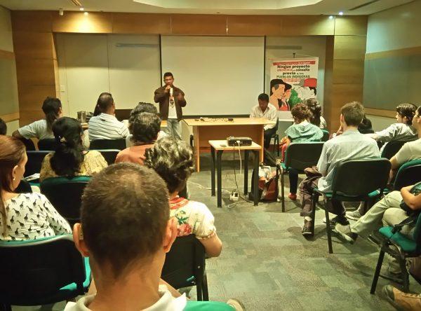 Indígenas y activistas organizan resistencia al Arco Minero del Orinoco
